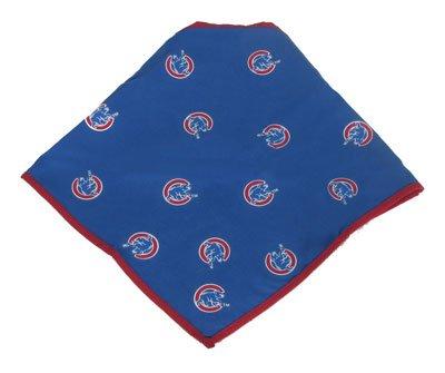 [Sporty K9 MLB Chicago Cubs Dog Bandana, Large  - New Design] (Cubs Fan Costume)