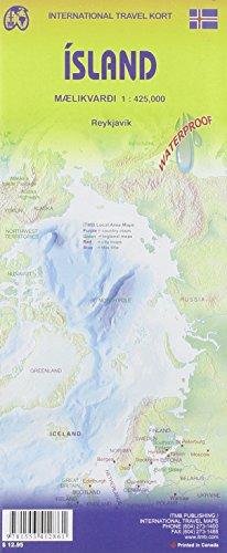Iceland : 1/425 000 (International Travel Maps)