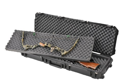 SKB Injection Molded 495-Inch Double Bow/Rifle Case (Black)