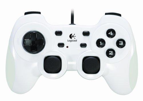 Logicool ハンゲーム×MHFサービス開始記念 Amazon.co.jp限定 PCゲームコントローラ スペシャルホワイト HANGP-100