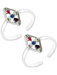 Designer Toe Ring Antique Designer Fashionable Toe Ring For Women