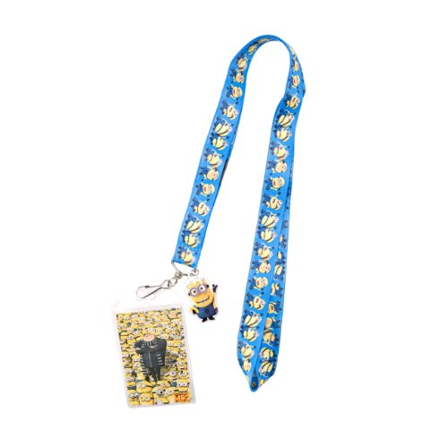 1 X Despicable Me 2 Minion Dance Lanyard