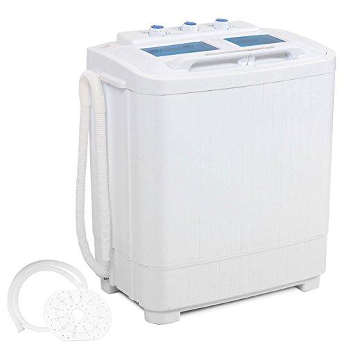 Della Electric Small Mini Portable Compact Washer Washing Machine (33L Washer & 16L Dryer) (Camp Washer compare prices)