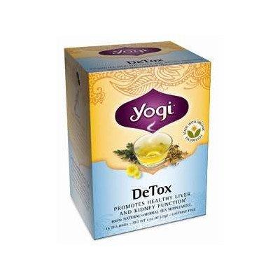 ヨギティー(Yogi Tea) デトックス 16袋 [海外直送][並行輸入品]