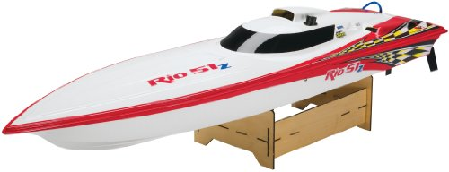 Aquacraft Rio 51Z Off-Shore Gas RTR Boat, Red (Rc Boats Gas compare prices)