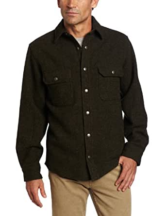 Woolrich Men 39 S Wool Alaskan Shirt At Amazon Men S Clothing