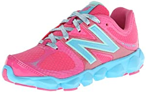 New Balance K4090 Pre Running Shoe (Little Kid),Pink/Blue,3 W US Little Kid