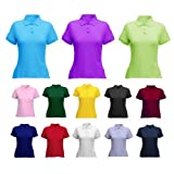 Ladies Classic Pique Polo Shirt Royal 14