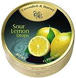 5.3oz Tin-Cavendish & Harvey Sour Lemon Drops
