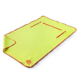 The Ultimate Bib, Lemon Zest with Tangerine (18 Months to 5 Years)(Discontinued)