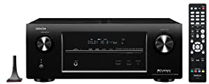 Denon AVR-X3000 IN-Command 7.2-Channel 4K Ultra HD Networking Home Theater Receiver with AirPlay and Streaming Capability (Discontinued by Manufacturer)