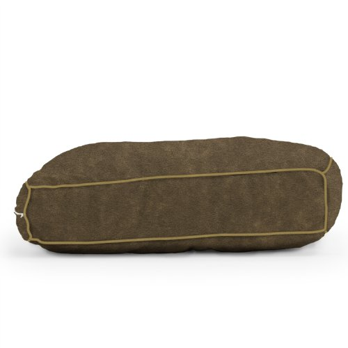 Wuf Fuf Espresso Comfort Suede Pet Bed (42