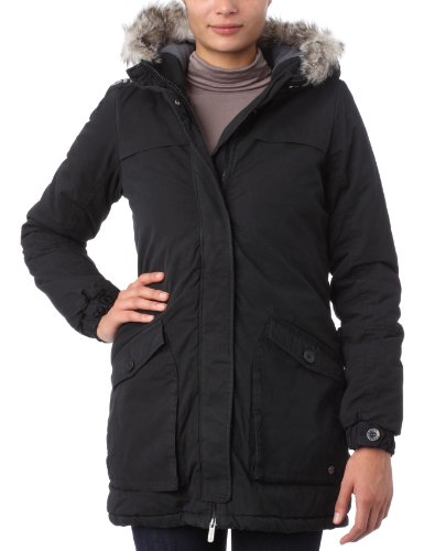 Bench Damen Parka TANTRUM, black, L