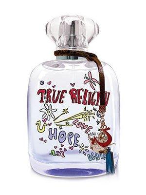 True Religion Love Hope Denim per Donna Cofanetto - 100 ml Eau de Parfum Spray + 90 ml Body lotion + 90 ml Gel Doccia + 8 ml Eau de Parfum Mini Spray