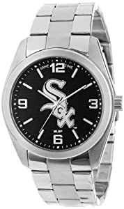 Game Time Unisex MLB-ELI-CWS Elite Chicago White Sox 3-Hand Analog Watch by Game Time