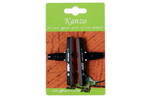 Buy Low Price Kanzo MTB-959 V-Type Brake Shoes Pads 1 pair for MTB Black (BKaBrShMTB959B)