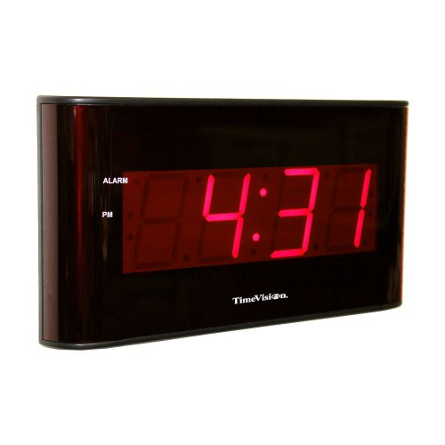 Pyramid wireless digital wall clock images frompo - Extra large digital wall clock ...