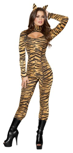 Roma Costume Women's 3 Piece Sassy Tigress Costume