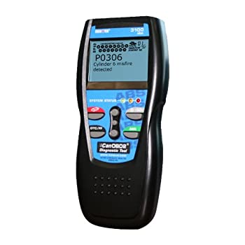 The perfect entry-level tool designed to empower any consumer when it comes to vehicle maintenance. This code reader works on all 1996 and newer cars, light trucks, SUV's and minivans both domestic and imported. The Innova 3100 CanOBD2 Diagnostic Too...