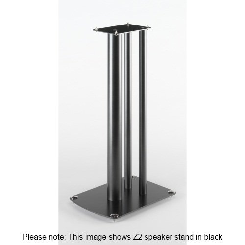 Soundstyle Z2 Speaker Stands New Improved (Silver)