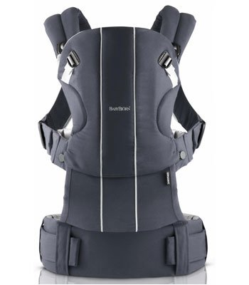 Baby Bjorn Organic Comfort Carrier-Anthracite