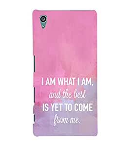 Ebby Premium Printed Mobile Mobile Back Case Cover With Full protection For Sony Xperia Z5 (Designer Case)