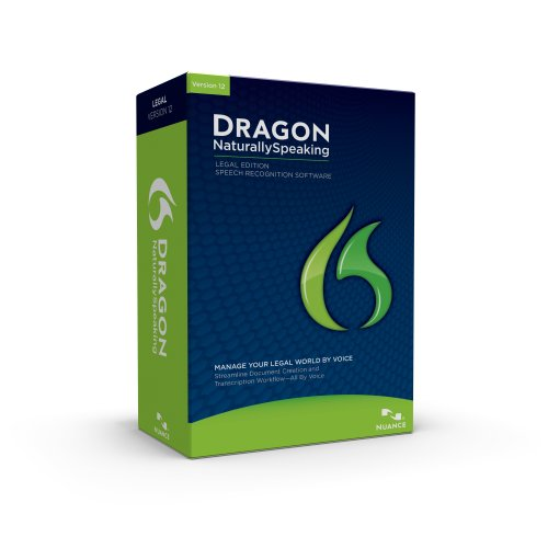 Dragon NaturallySpeaking Legal 12, English