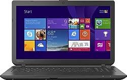 Toshiba Satellite C55D-B5308 15.6-Inch Laptop (AMD E1-Series, 4GB Memory, 500GB Hard Drive) Jet Black