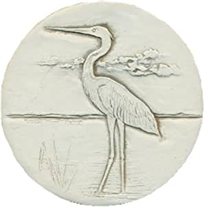Set of 4 heron super absorbent stoneware drink coasters - Drink coasters absorbent ...