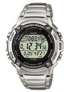 Casio Men's Solar Powered Runners Bracelet Digital Watch W-S200HD-1AVEF