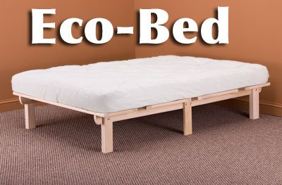 Toddler Bed and Guide Top Full Size EKKO BED with Futon
