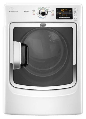 7.4 Cu. Ft. Capacity Electric Dryer Auto Refresh w/ Steam Wrinkle Control Advanced Moisture Sensing: White