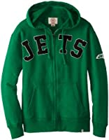 NFL York Jets Men's Striker Full Zip Jacket by Twins Enterprise/47 Brand