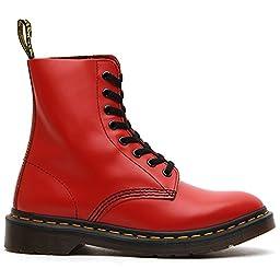 Dr. Martens Unisex Pascal Red Boot 4 Men US / 5 Women US (3 Men UK)