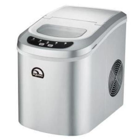 Igloo ICE102SILVER Ice102 Silver Silver Countertop Ice Maker 24lbs/24hrs