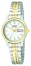 Citizen Womens EW3154-90A Stainless Steel Eco-Drive Watch
