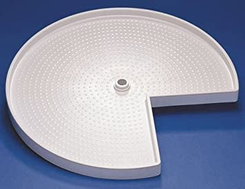 drehboden 3 4 kunststoff karussell eckschrank rondell. Black Bedroom Furniture Sets. Home Design Ideas