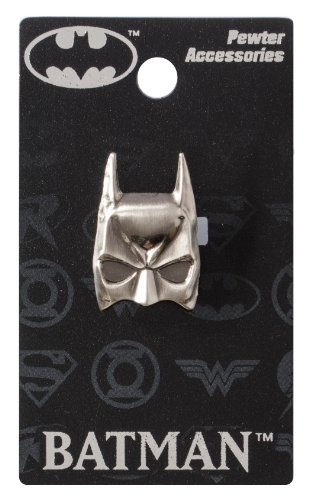 DC Batman Mask Pewter Lapel Pin