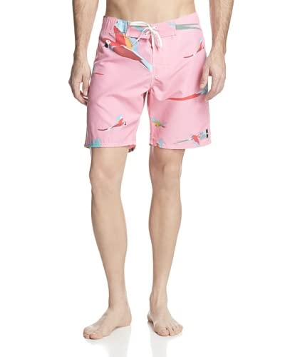 ambsn Men's Parrot Boardshort