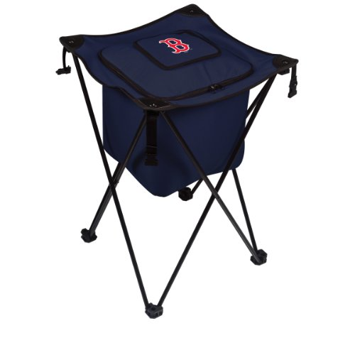 Mlb Boston Red Sox Sidekick Insulated Portable Cooler With Integrated Legs, Navy front-595450
