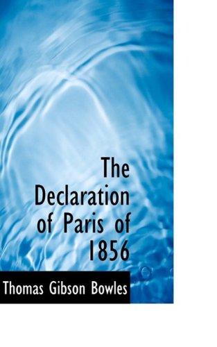 The Declaration of Paris of 1856