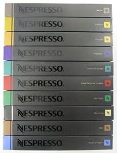 50 Nespresso Capsules Ristretto Coffee NEW