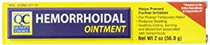 Quality Choice Hemorrhoidal Ointment 2 Ounces (56.8g),  Boxes (Pack of 4)