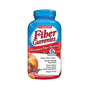Vitafusion Fiber Gummies Calcium 90 Count