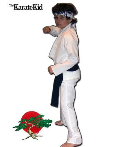 The Karate Kid Daniel-San Deluxe Kids Costume
