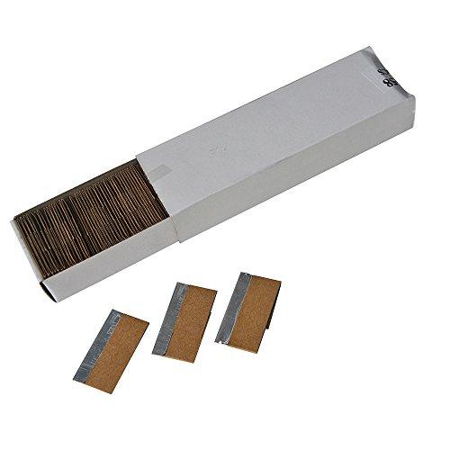 Ehdis-15-Acciaio-al-carbonio-Mini-raschietto-rasoio-singolo-bordo-Razor-Blades-per-la-rimozione-di-colla-la-registrazione-Paint-decalcomanie