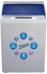 Intex WMA62 Fully-automatic Top-loading Washing Machine (6 Kg, Light Grey and Sky Blue)
