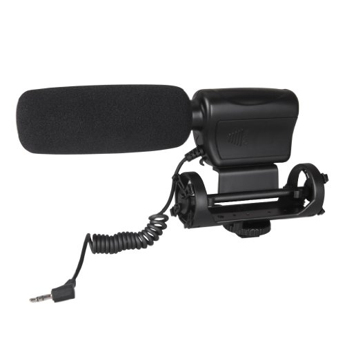 Wmicro Photography Dv Camcorder Camera Stereo Mic Microphone For Canon Nikon D800 D300S D3S D7000 D3000 D90