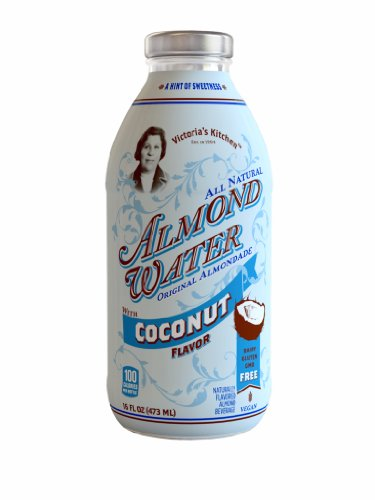 Victoria's Kitchen Coconut Almond Water 473 ml (Pack of 12)