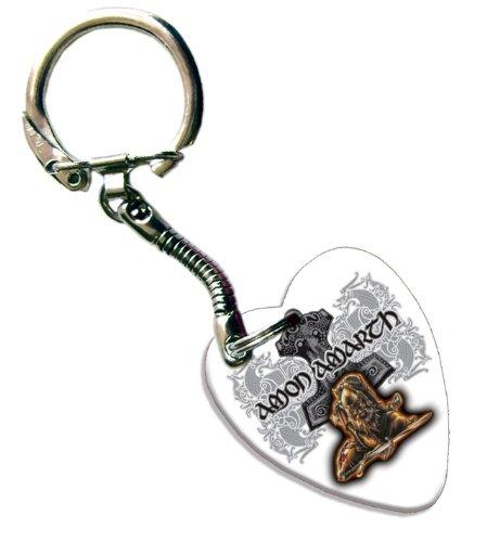Amon Amarth Love Heart Chitarra Pick Portachiavi Band Plettro Plettri